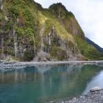 Schmelzwasser des Fox Gletschers
